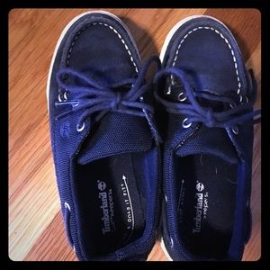 Timberland boys boat shoes size 11